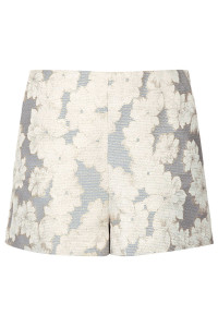 High-waist shorts, £34 Topshop