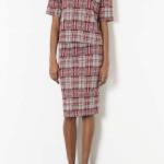 Tartan Tee and Tube Skirt, £50 for both, Topshop
