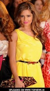 Yellow dress cheryl cole