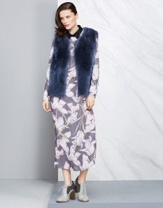 Dress, £89, gilet, £499,shoes, £39.50, all M&S