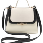 Monochrome satchel, £25, M&Co