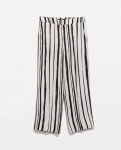 Stripe culottes, £39.99 Zara
