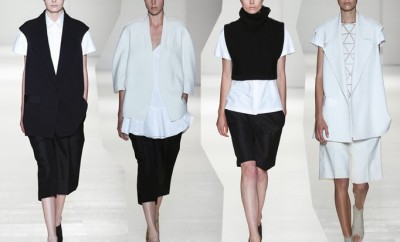 Culottes were heavily featured in Victoria Beckhams SS14 show.