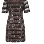Lace and sequin dress, £75, Next