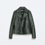 Leather jacket, now £29.99 at Zara