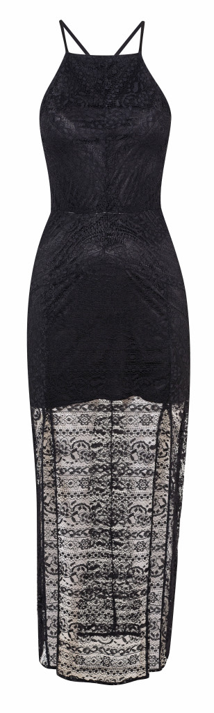 Crochet floor dress, £85, Miss Selfridge