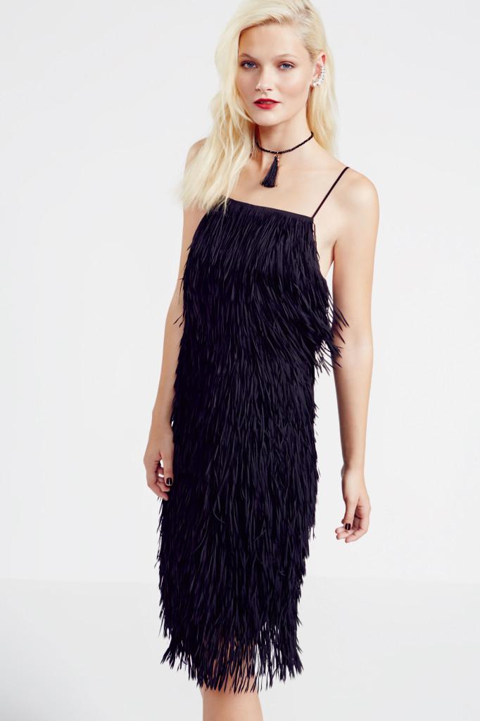 Fringe dress, £85, Dorothy Perkins
