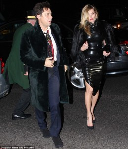 Kate Moss was recently spotted in this sultry latex LBD.