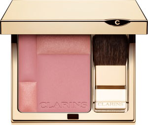 THE CHEEK: A rose blush suits any skintone.