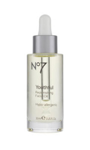 YOUTH BOOSTER: Get younger skin with this oil.