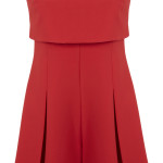 Red jumpsuit, £43, Miss Selfridge
