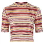 Stripe top, £24, Topshop
