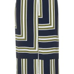 Striped slit skirt, £36, Topshop