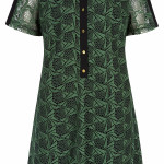 Biba Green lace shirt dress £125 at House of Fraser