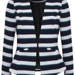 Stripe blazer, £18, George at Asda