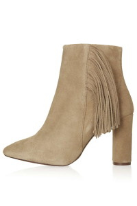 Suede ankle boots, £78, Topshop