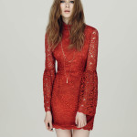 Lace dress, £49, Miss Selfridge