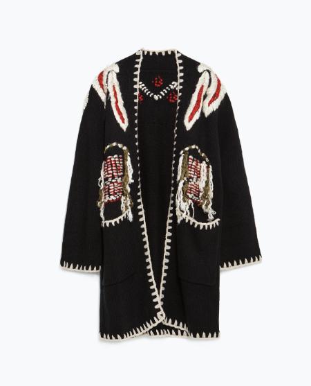 Cardi, £59.99, Zara