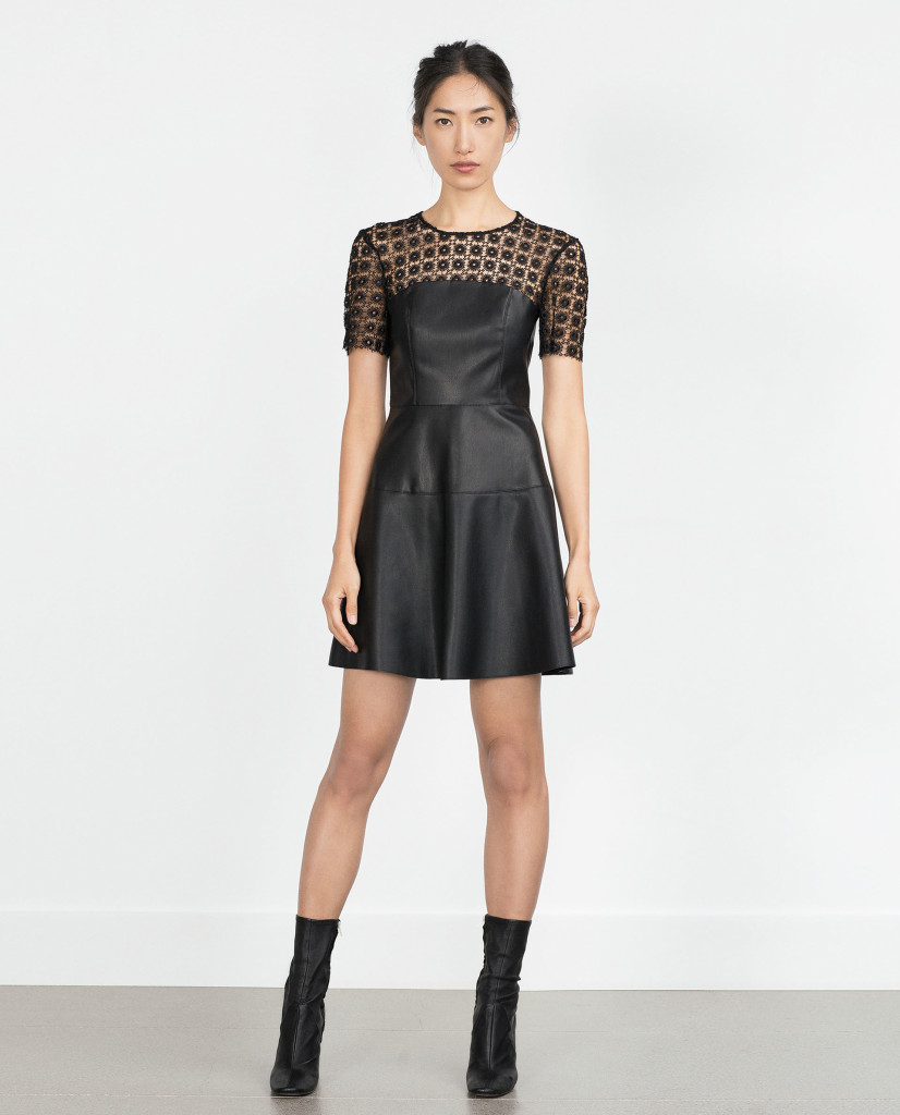 Dress, £39.99 at Zara