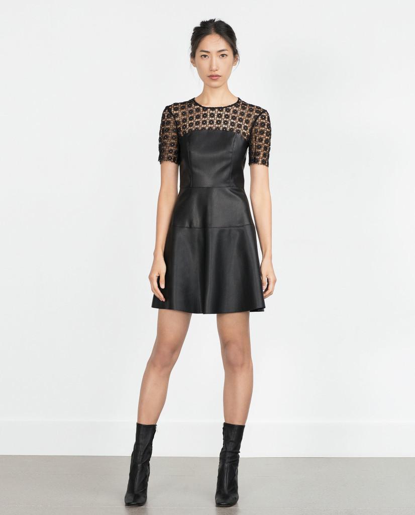 Dress, £39.99 at Zara