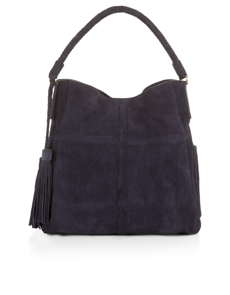 Slouch bag, £75, Accessorize