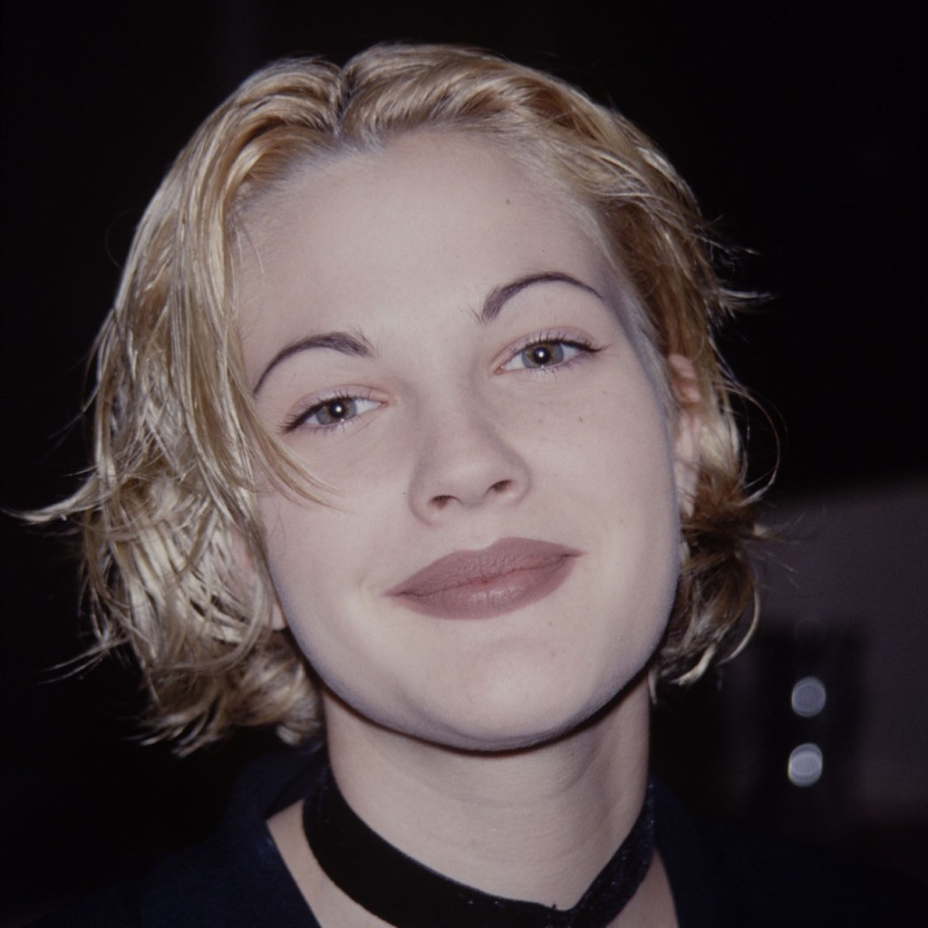 Actress Drew Barrymore knows the consequences of 90s brows