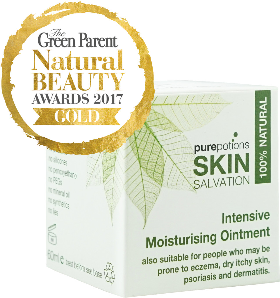 Skin Salvation Intensive Moisturising Ointment w Gold award